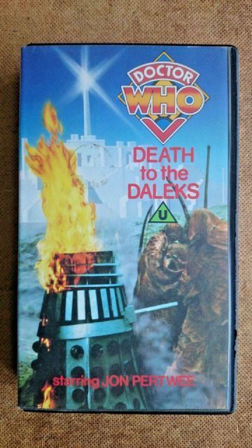 Doctor Who Death to the Daleks  Unedited  Edition - Jon Pertwee